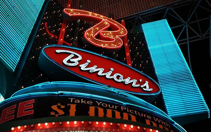 Binion's Vegas Fremont Street Experince