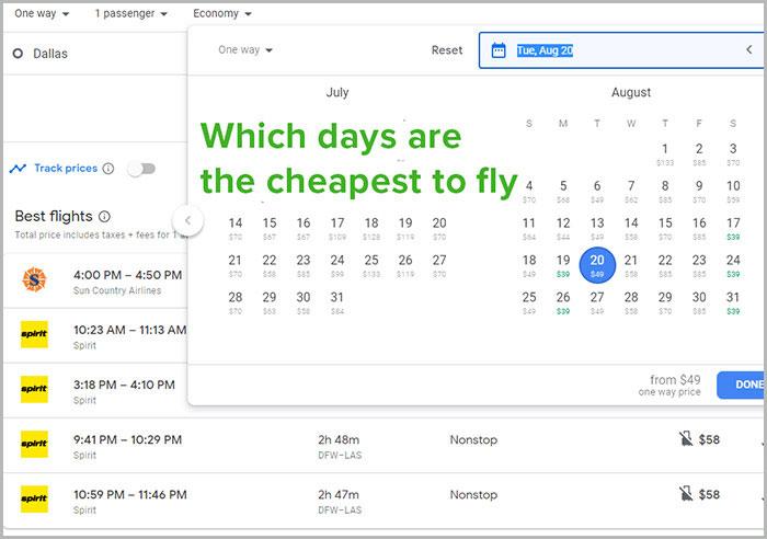 best prices in flights to vegas