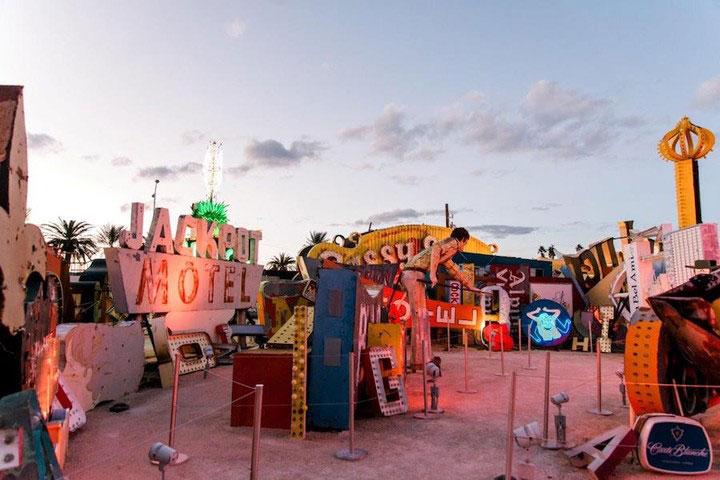 Neon Museum Las Vegas in Downtown Las Vegas