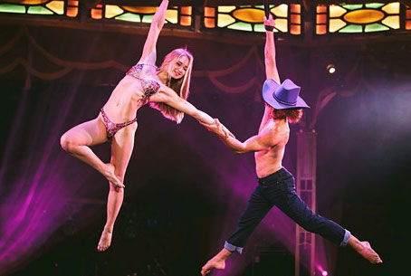 Up to 40% off Atomic Saloon show at Venetian