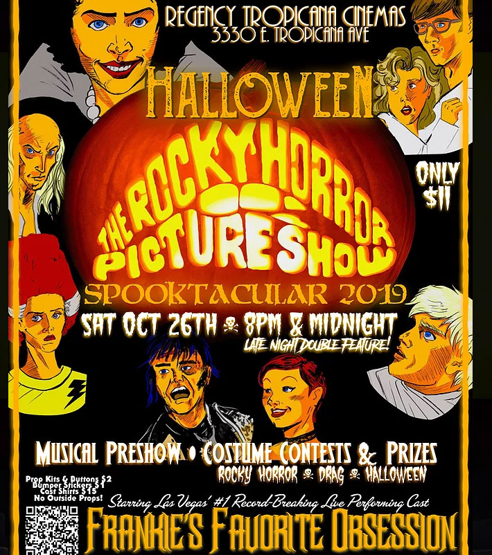 The Rocky Horror Picture Show Halloween Spooktacular