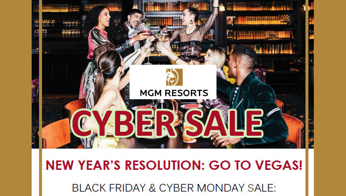 cyber sale black friday mgm resorts 2019