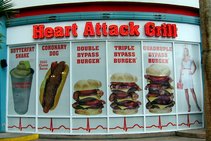 The Heart Attack Grill has been fighting anorexia for a long time now... Photo credit: heartattackgrill.com