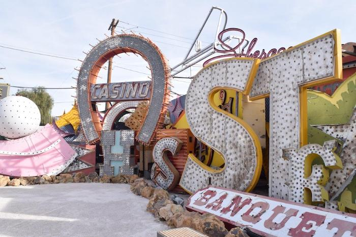 An exhibit at the Neon Museum, Vegas' most prolific history of signage and attractions. Photo credit: neonmuseum.org.