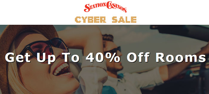40 percent of stations casino las vegas cyber sale