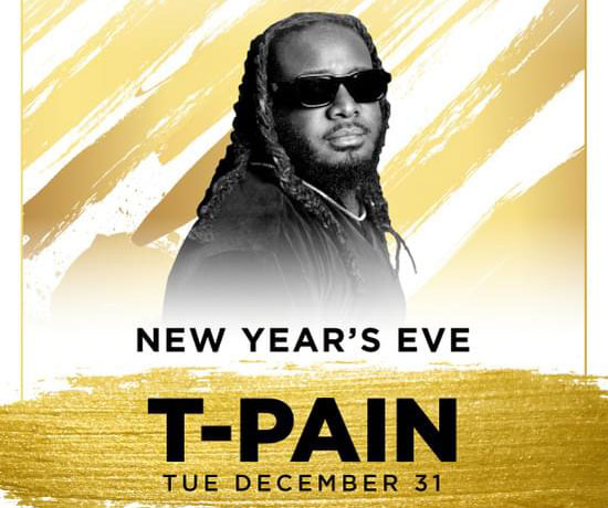 t-pain las vegas New years eve 2020