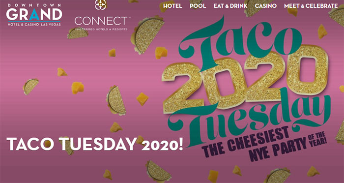 Taco Tuesday NYE Party Downtown Vegas