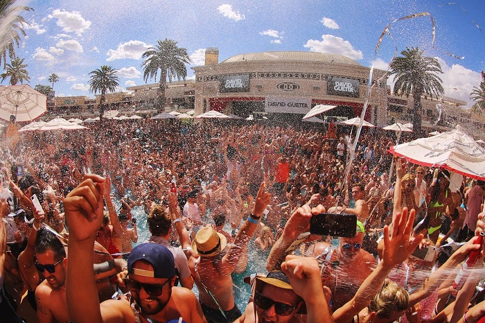Encore Beach Club EDM Vegas