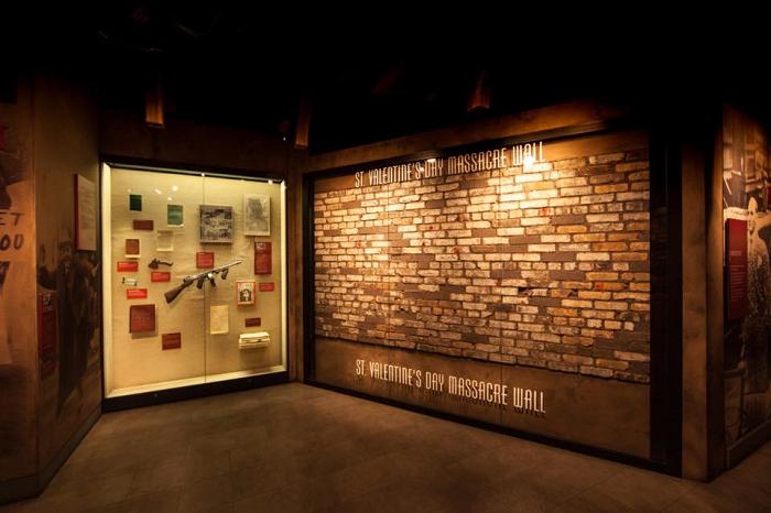 Vegas Mob Museum Wall