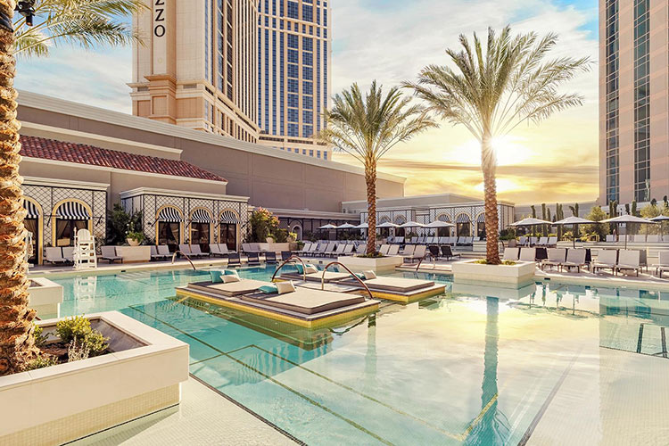 Venetian pools and casinos with reopen June 4.