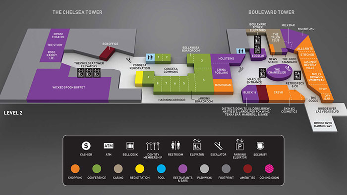 Cosmopolitan level 2 property map