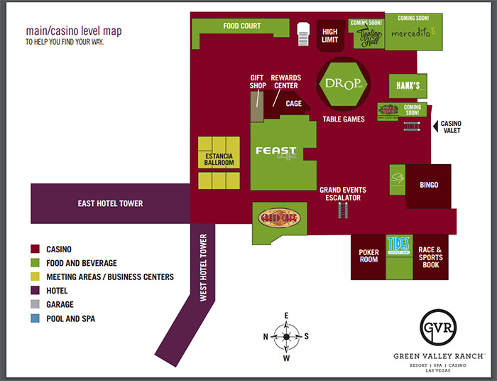 green valley ranch vegas map