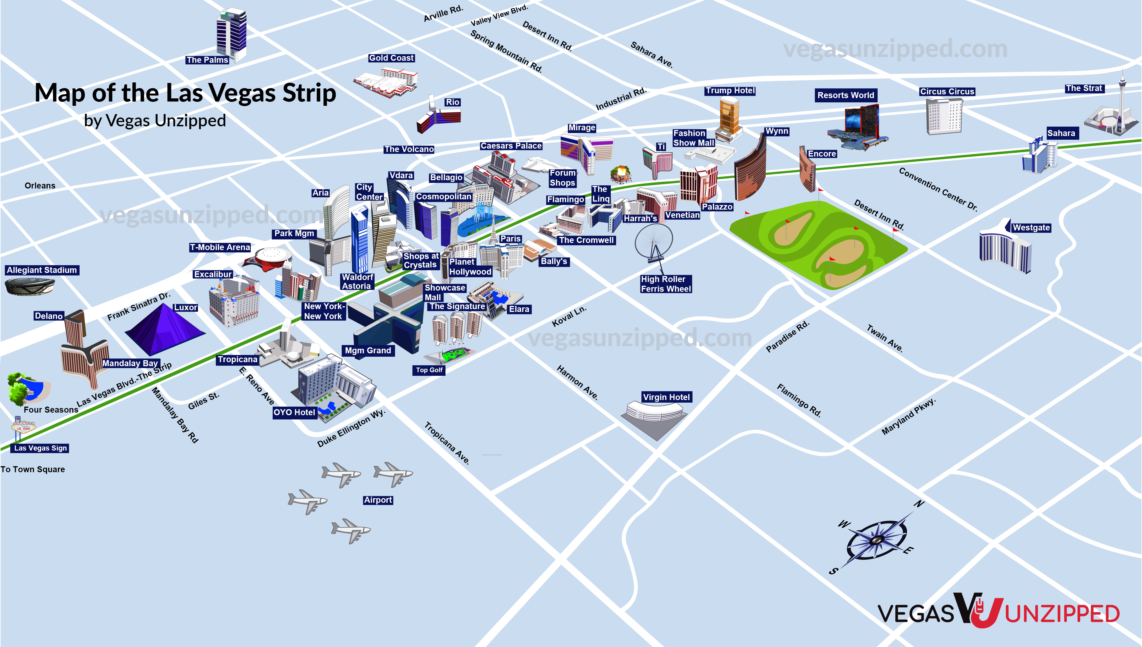 Las vegas strip map with hotels and casinos download game portal 2 pc