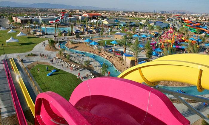 Outdoor fun at Wet N Wild Las Vegas