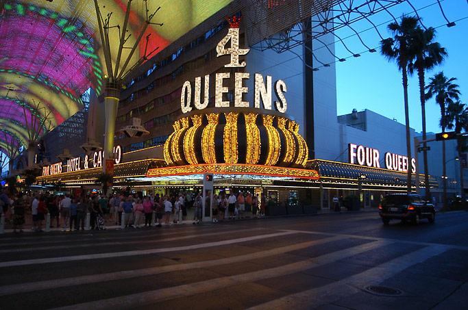 four queens in downtown las vegas