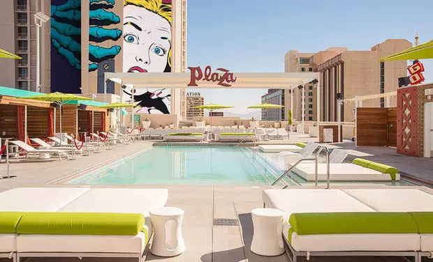 The plaza - one of the best hotels in downtown vegas