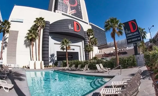 the D hotel in downtown vegas