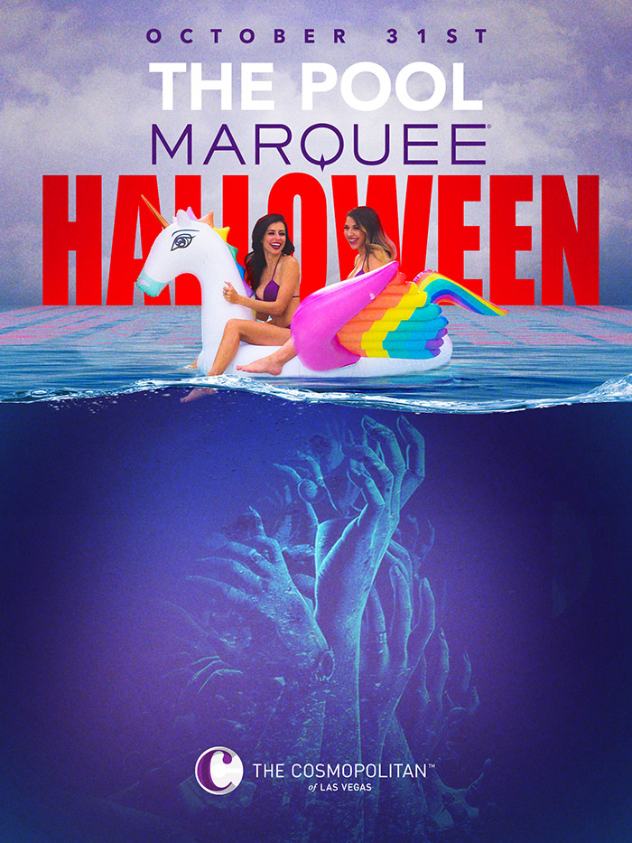 Marquee Pool Halloween 2020