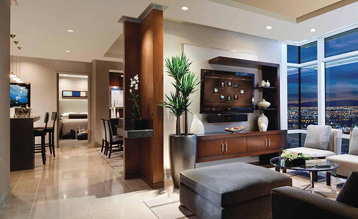 ARIA Sky suites two bedroom penthouse