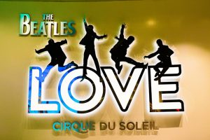 Beatles love cirque du solei