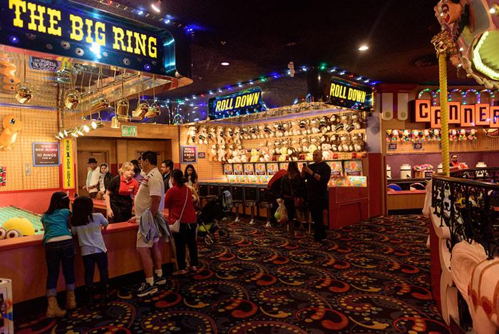 Arcade within Circus Circus