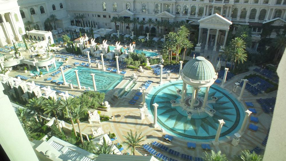 Caesars pools