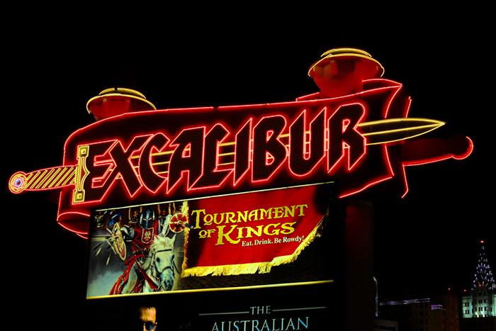 Excalibur vegas family hotel