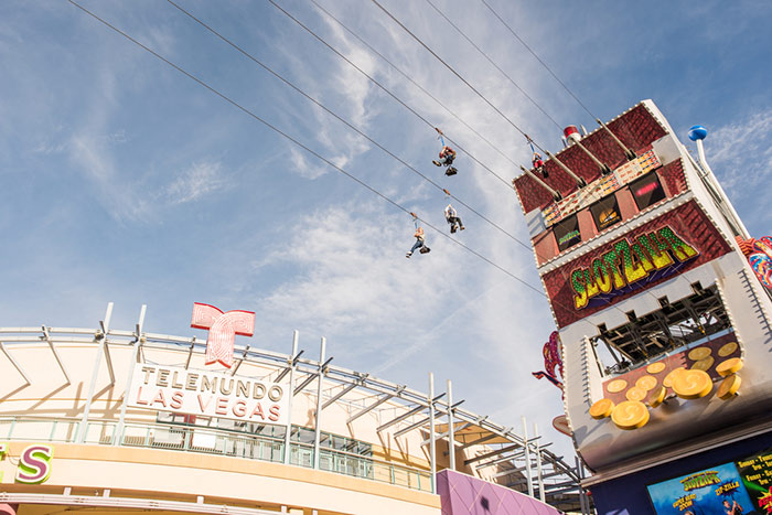 Slotzilla Zipline things to do vegas