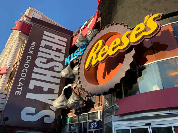 Hershey's Chocolate World Vegas