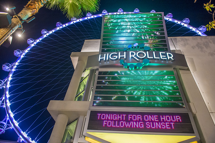 high roller events, location, and prices