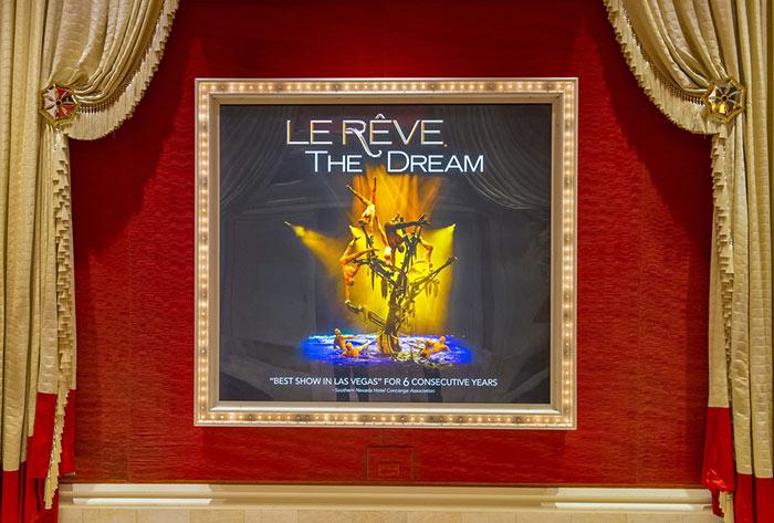 Le Reve vegas show