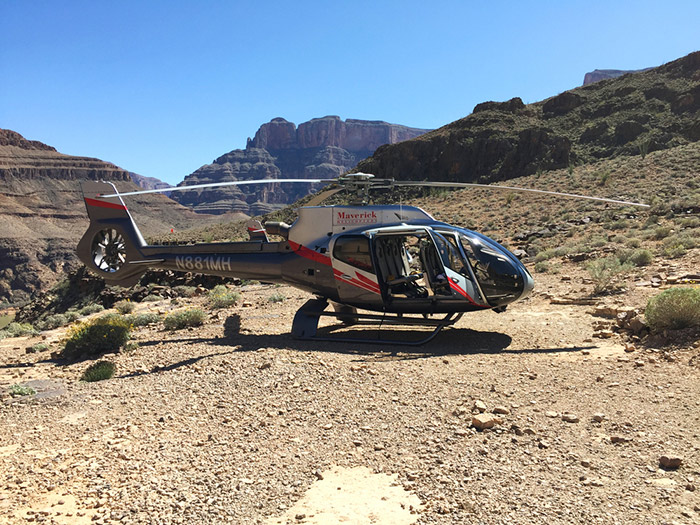Maverick helicopter tours of Grandy Canyon