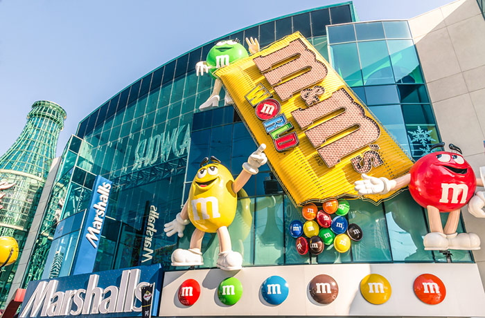 m&m world las vegas