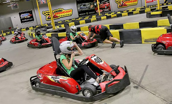 pole position go carts in Vegas