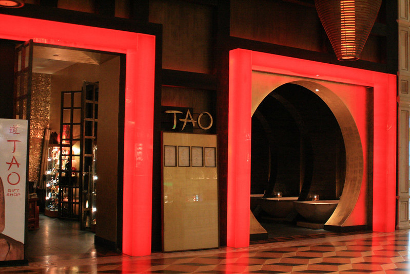 Entrance into Tao Las Vegas