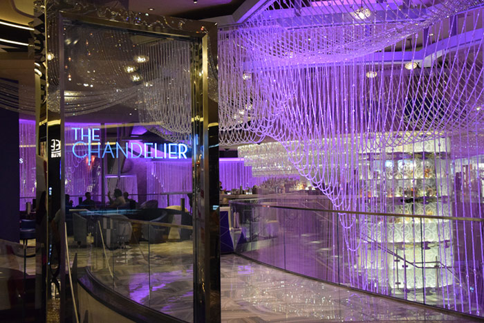 Chandelier Bar at Cosmopolitan