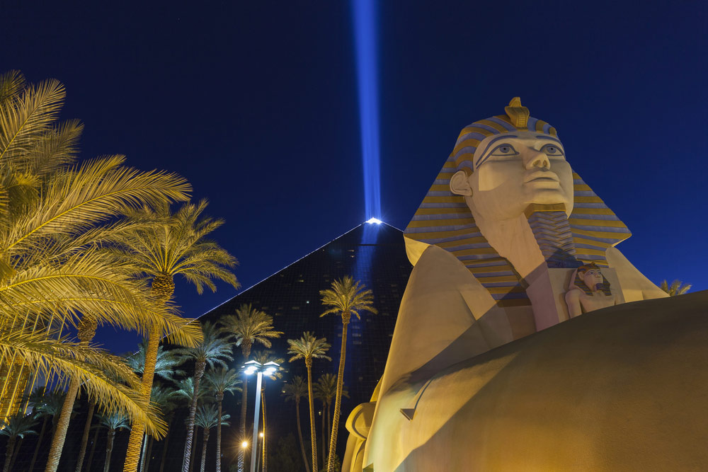 luxor light in vegas