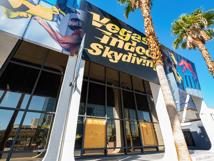 sky dive in las vegas