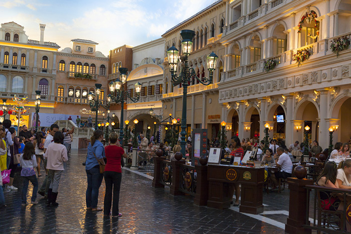 Venetian Dining Options