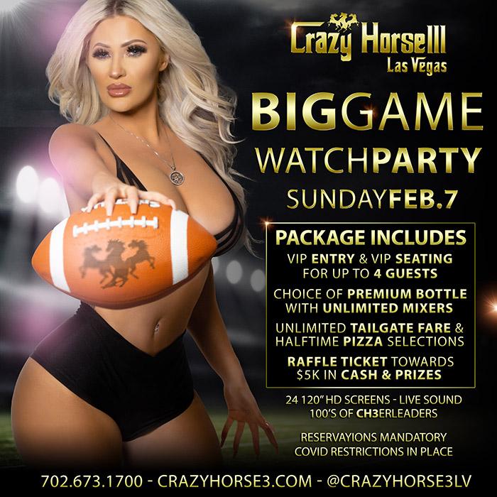 Super Bowl Watch Parties vegas 2021