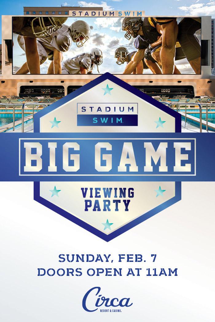 Circa Las Vegas Super Bowl 2021 Viewing party