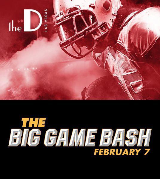 The D Las Vegas big game party 2021
