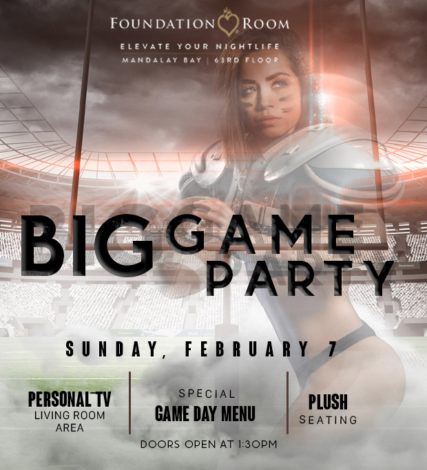 big game 2021 party at foundation room