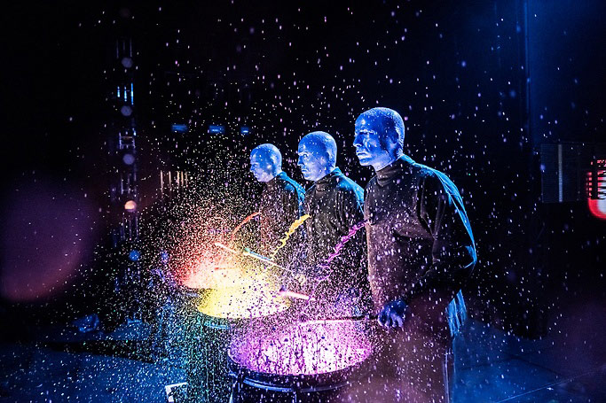 Blue man group vegas show june 2021