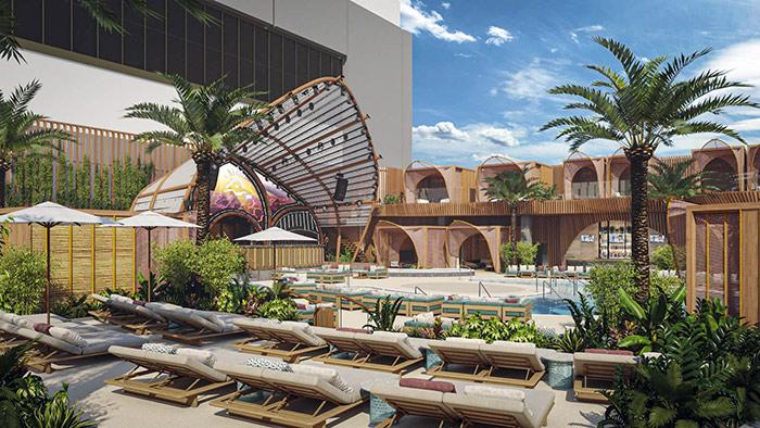 Ayu Dayclub Pool party at resorts world
