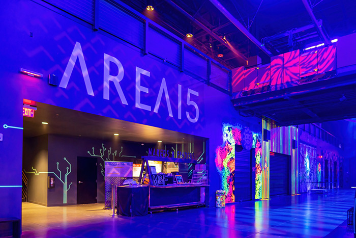 AREA15 is a fun attraction, very artistic
